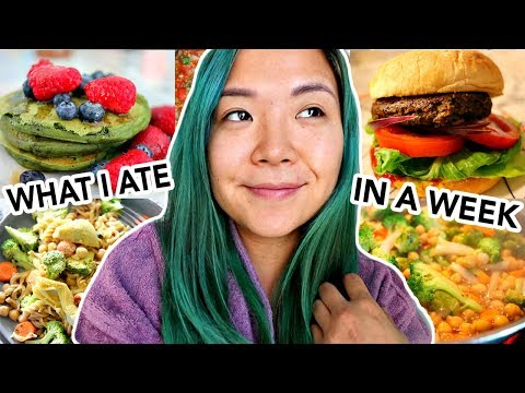 What a Hungry Vegan Girl Eats in a WEEK ! (What I Ate in a Week Vegan)