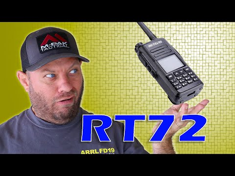 Retevis REVEALS the RT-72 Dual Band DMR Handheld Ham Radio