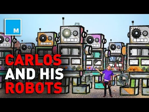 📺 Carlos' Robots Go To Mars! [KID STORIES]