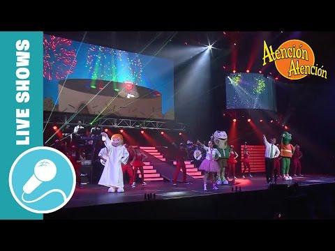 """Atención Atencion 15 años """"El Especial"""" - DOCUMENTAL / Show En vivo 2014"""
