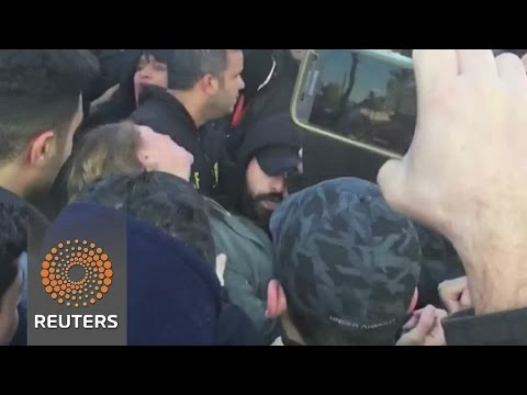 Violence erupts outside Israeli military court before shooting verdict