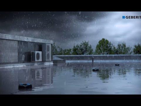 Geberit Pluvia Fastening System - Installation