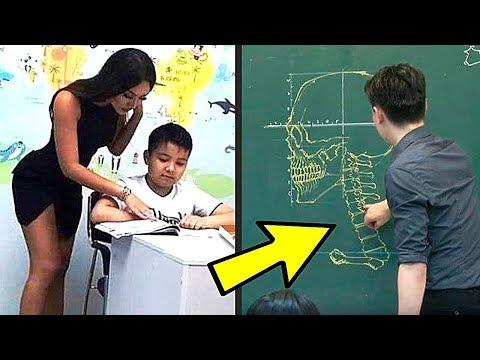 10 Самых Крутых Учителей, Которых Вы Хотели Бы в Вашей Школе