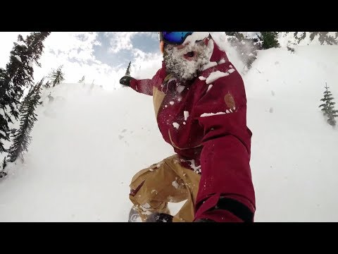 Travis Rice and the History of Baldface - redbull