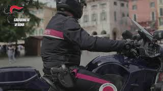 Operazione Carabinieri Verona