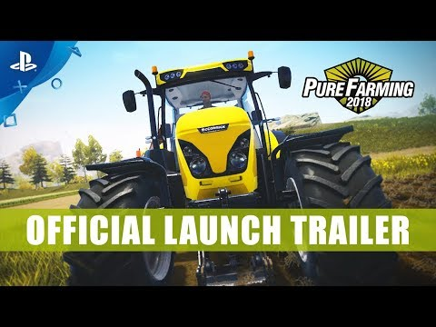 Pure Farming 2018 - LaunchTrailer | PS4