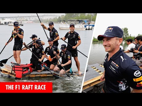 The F1 Raft Race with Red Bull Racing!