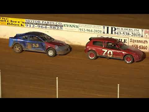 05/14/21 Super 4 Heat and Feature Races - Oglethorpe Speedway Park - dirt track racing video image