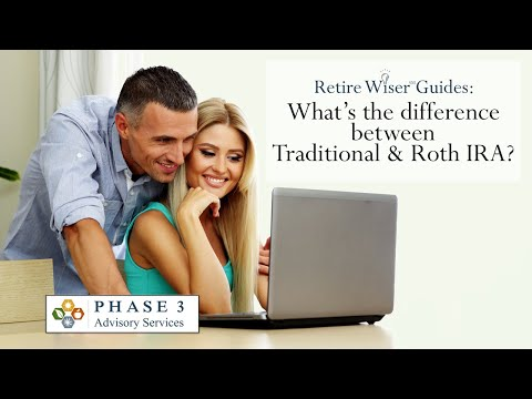 Retire Wiser Guides: What's the Difference Between a Traditional and Roth IRA?