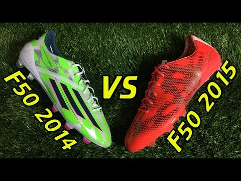 Adidas F50 adizero 2015 VS F50 adizero 2014 - Comparison + On Feet - UCUU3lMXc6iDrQw4eZen8COQ
