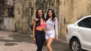 Jhanvi Kapoor Looks Happy Like Never Before With Bestfriend After A Gym Session