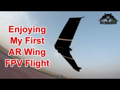 AR Wing FPV Flying Wing Maiden Flight and FPV - UCsFctXdFnbeoKpLefdEloEQ