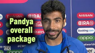 World Cup 2019 | Pandya overall package: Jasprit Bumrah