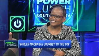 PwC Southern Africa's first female CEO Shirley Machaba discusses her life, career lessons