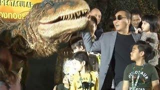 ลูก 'เปิ้ล นาคร' ร้องจ๊าก! เจอไดโนเสาร์ Baby T-Rex เตรียมคืนชีพโชว์อลังการ Walking With Dinosaurs