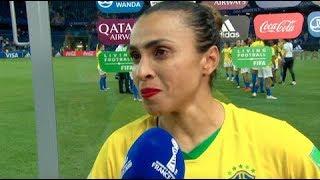 Discurso de Marta após derrota na Copa do Mundo repercute no mundo todo