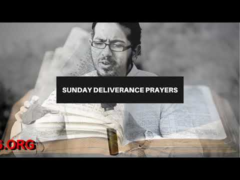 THE RIGHT MEDITATION OF THE HEART, Sunday Deliverance Prayers