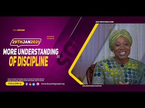 Dr Becky Paul-Enenche - SEEDS OF DESTINY  FRIDAY JANUARY 29, 2021