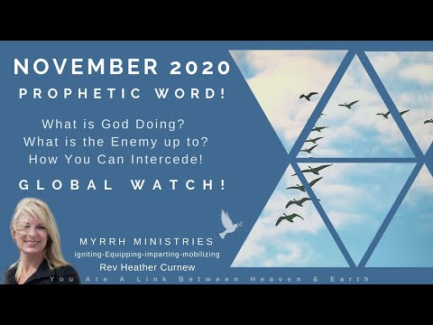 NOVEMBER PROPHETIC WORD Are You Ready For the Turn Around???