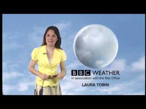 Laura Tobin BBC Weather April 22nd 2011 HD