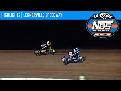 World of Outlaws NOS Energy Drink Sprint Cars Lernerville Speedway, July 20, 2021   HIGHLIGHTS - dirt track racing video image