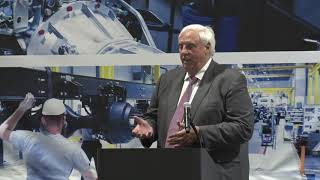 Gov. Justice speaks at Grand Opening Ceremony for Hino Motors Manufacturing Plan