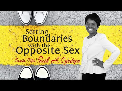 Setting Boundaries with the Opposite Sex