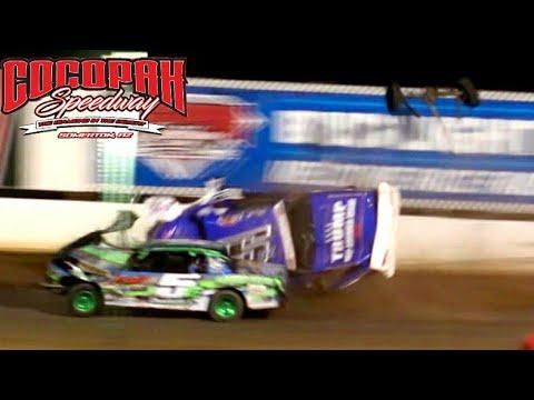 Cocopah Speedway IMCA Hobby Stock Main Event 1/14/21 - Dirt Track Racing - dirt track racing video image
