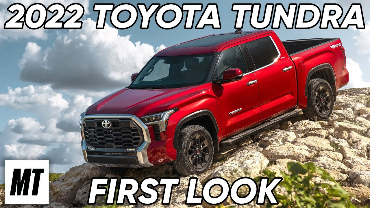 2022 Toyota Tundra First Look | MotorTrend