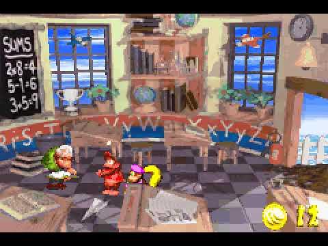 Game Boy Advance Longplay [222] Donkey Kong Country 2