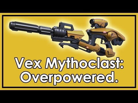 Destiny: How to Get Vex Mythoclast - Exotic Fusion Rifle - Most OP Weapon in the Game? - UCkmAjbIecTIjTQctolYeuDw