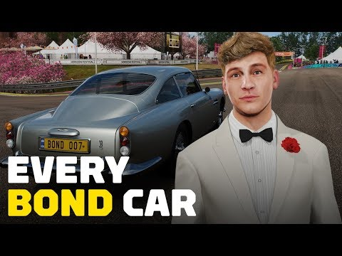 Forza Horizon 4: Every James Bond Car - UCKy1dAqELo0zrOtPkf0eTMw
