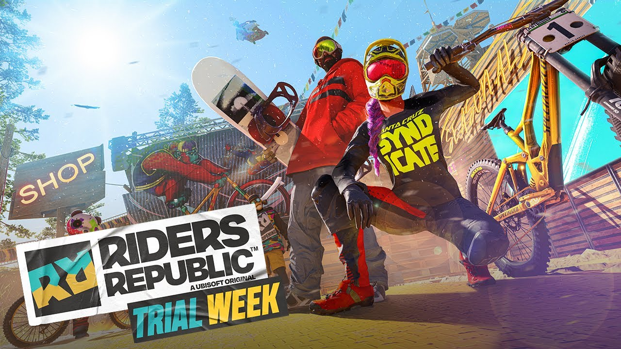 Welcome to Trial Week! | RIDERS REPUBLIC