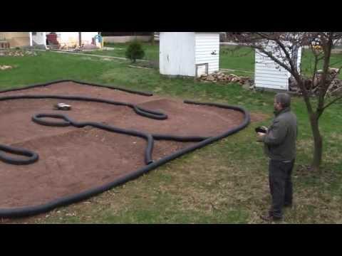 How to make a backyard RC car track - tips and techniques - UCd97mKvl0JwSYqdQCpr8MFg