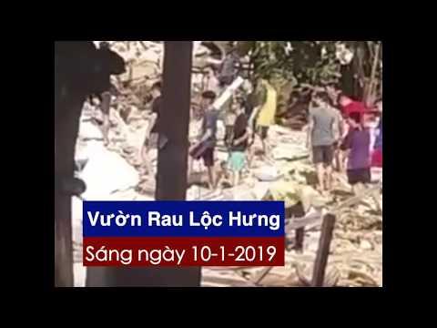 Vườn rau Lộc Hưng: Chính quyền tiếp tục lấy những gì còn sót lại