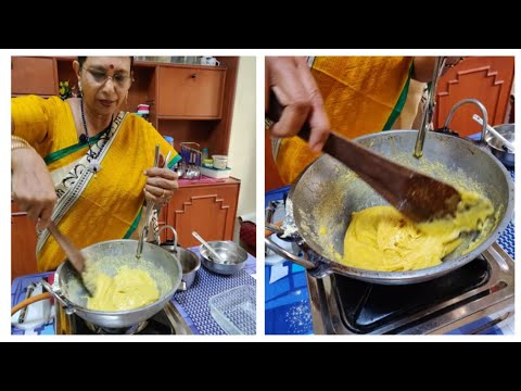 Deepavali Special - Soft Mysore Pak with beginners tips