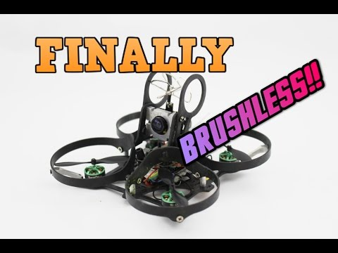 IT'S HERE!! THE DREAM INDOOR DRONE. BRUSHLESS WHOOP REVIEW | Aurora quadcopter review - UC3ioIOr3tH6Yz8qzr418R-g