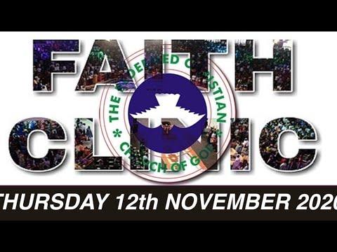 RCCG OCTOBER 12th 2020 FAITH CLINIC  GOD IS TOO FAITHFUL TO LIE