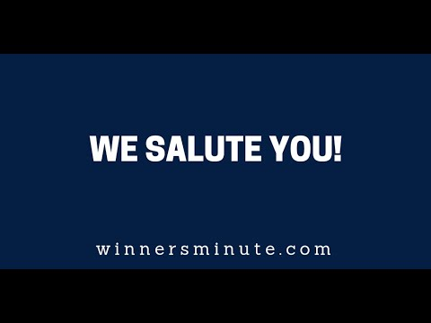 We Salute You!  The Winner's Minute With Mac Hammond