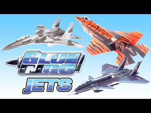 H-King Glue-N-Go Jets - HobbyKing Glue-N-Go Series - UCkNMDHVq-_6aJEh2uRBbRmw
