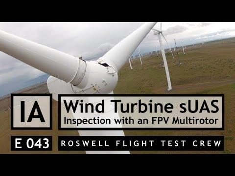 RFTC: Wind Turbine Inspection Using an FPV Multirotor SUAS - UC7he88s5y9vM3VlRriggs7A