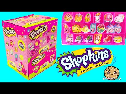 Box of Surprise Eraser Blind Bags  with Stickers + Season 4 Mystery Shopkins -Cookieswirlc - UCelMeixAOTs2OQAAi9wU8-g