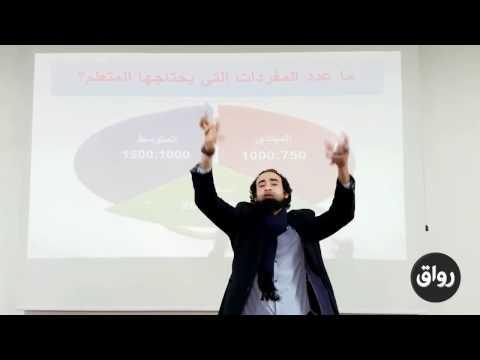 أسس مهمة في تعليم العربيةعدد المفردات اللازمة لمتعلم اللغة الثانية   المحاضرة الثالثة الجزء السادس