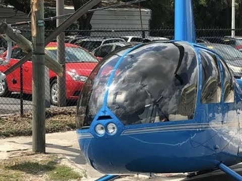 Breaking Helicopter Crash Florida 1 Dead In Truck