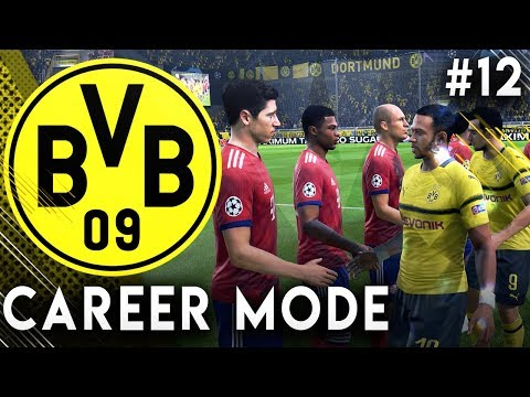 FIFA 19 Borussia Dortmund Career Mode EP12 - We Got Lucky In The Champions League!!