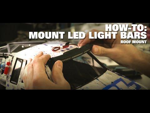 "Pro-Line HOW-TO: Roof Mount a 6"" LED Light Bar - UCokEhcgt_sl5FWglgC4k2Gw"