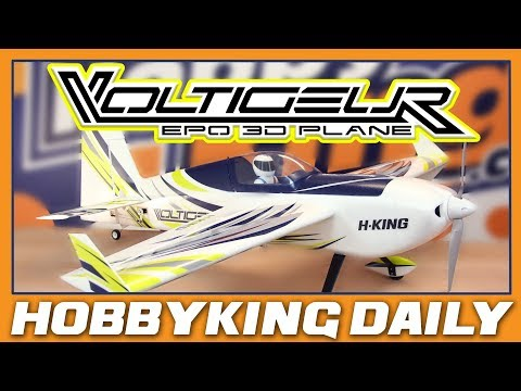 "H-King Voltigeur MkII 3D EPO Aerobatic Plane 1220mm (48"") - HobbyKing Daily - UCsFctXdFnbeoKpLefdEloEQ"