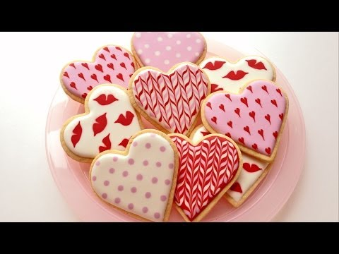 How To Decorate Cookies for Valentine's Day