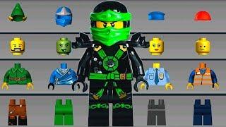 LEGO NINJAGO Build Helicopter, Bouncing Truck - LEGO Juniors Create & Cruise