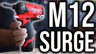 New Milwaukee Tools M12 FUEL Surge Hydraulic Impact Driver (WATCH BEFORE YOU BUY!)